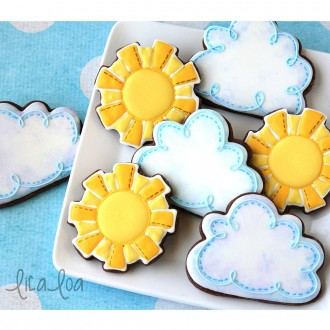 Cloud Cookie Cutter 3 3/4""