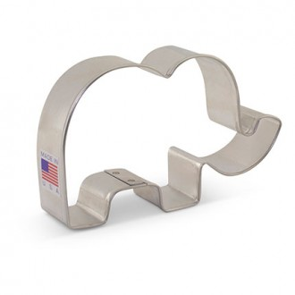 Cute Elephant Cookie Cutter 4""