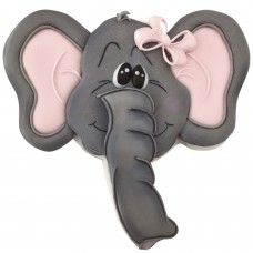 Elephant Face Cookie Cutter by Delores Sword
