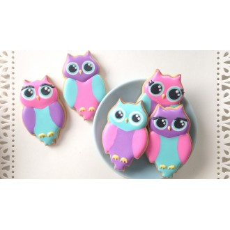 Owl Cookie Cutter 3''