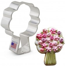Apple Tree /Bouquet / Fireworks Cookie Cutter 3 5/8""