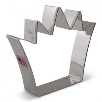 "King Crown Cookie Cutter 4 1/4"" x 3 3/4"""