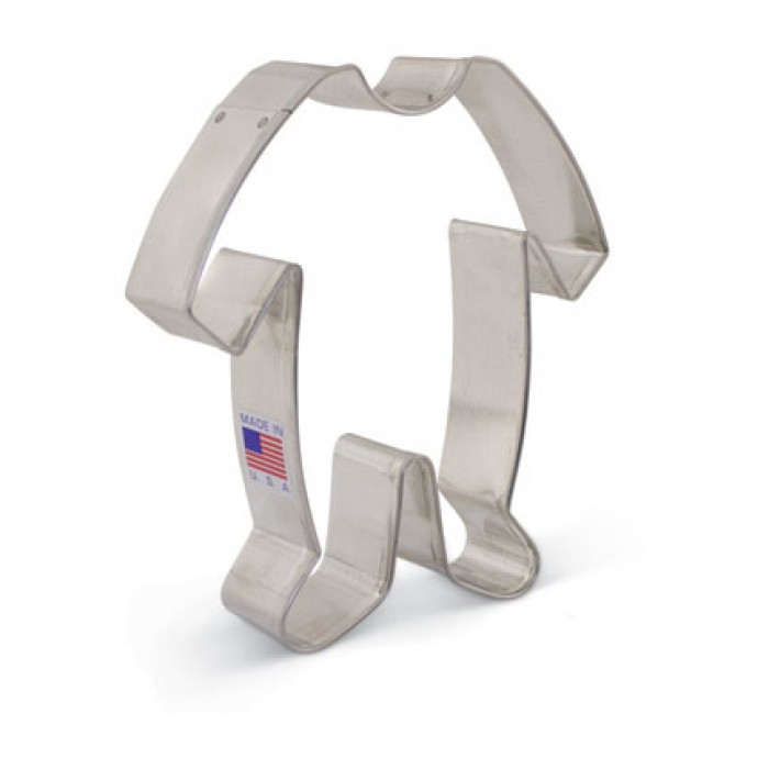 """Baby Footie Pajamas Cookie Cutter 4 1/2"""" x 4 1/8"""""""