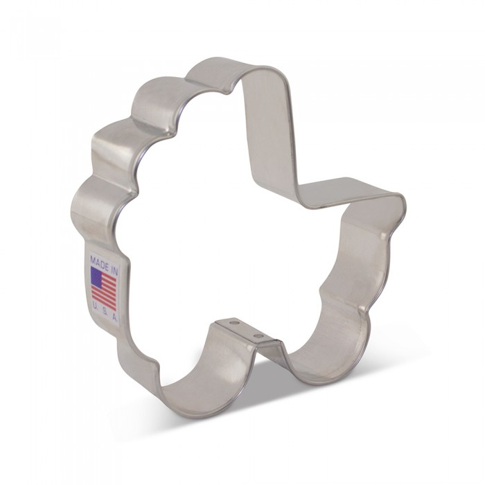 """Baby Carriage Cookie Cutter 3 1/2"""" x 3 3/8"""""""