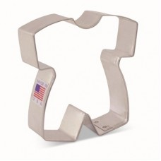 "Baby Romper Cookie Cutter 3 1/4"" x 3"" by Tunde's Creations"