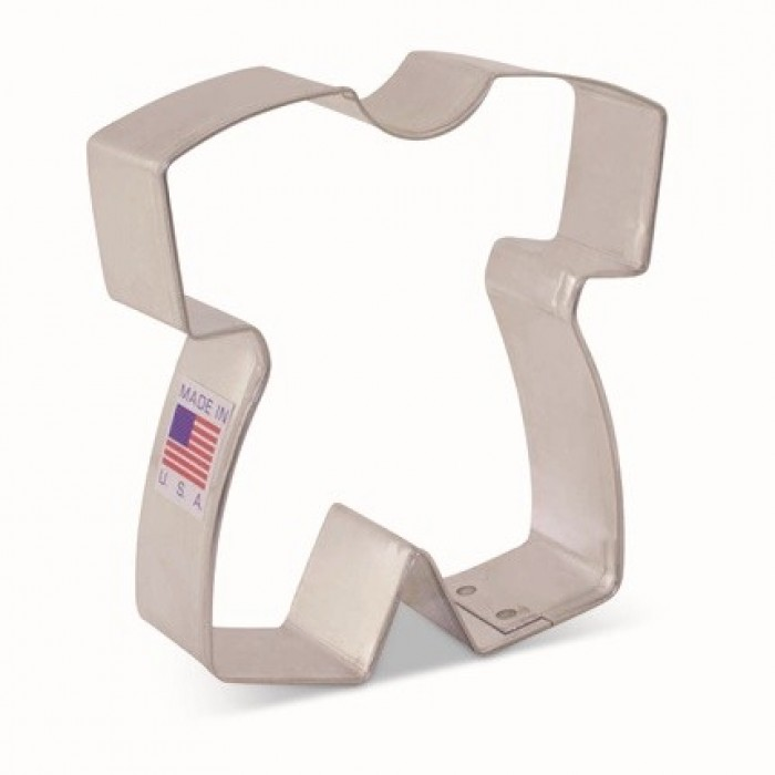 """Baby Romper Cookie Cutter 3 1/4"""" x 3"""" by Tunde's Creations"""