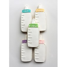 "Baby Bottle Cookie Cutter 4 1/8"" x 2"""