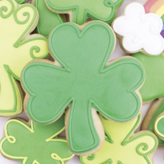 Shamrock Cookie Cutter 4""