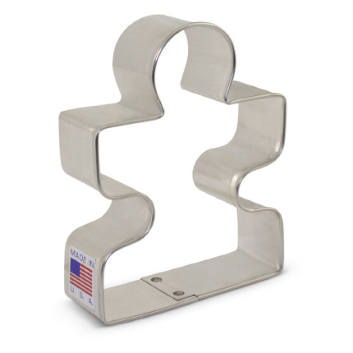 Puzzle Piece Cookie Cutter 3 1/2""