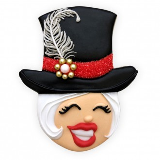 Top Hat Cookie Cutter by Arty McGoo