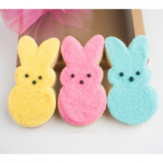 """Easter Bunny Cookie Cutter 4 1/8"""" x 2"""""""