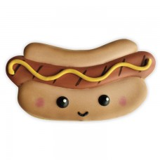 """Hot Dog Cookie Cutter 4"""" x 2"""" by Flour Box Bakery"""