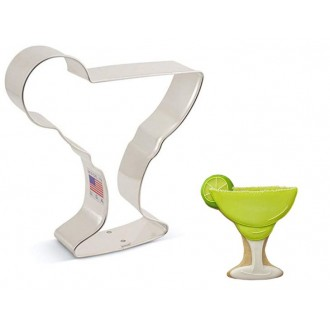 "Margarita Glass Cookie Cutter 4""x 4 1/2"""