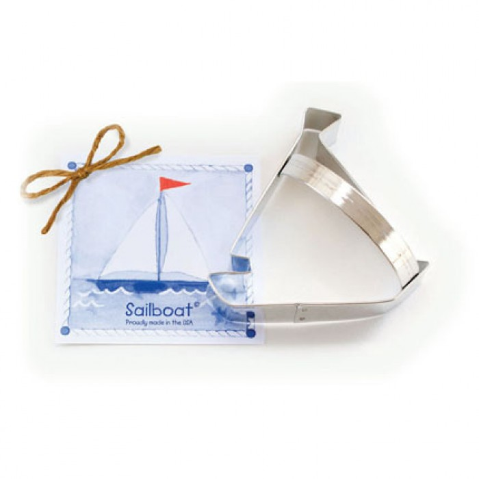 Sailboat Cookie Cutter 4""