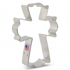 Cross from Flour Box Bakery's XL Fancy Cookie Cutter 5""