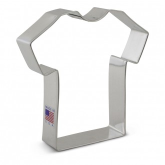 T-Shirt Cookie Cutter 4 3/8'' (Nurse - Doctor)