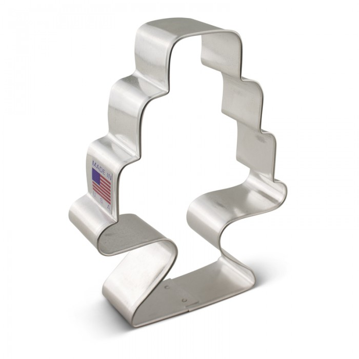 Cake w/ stand Cookie Cutter