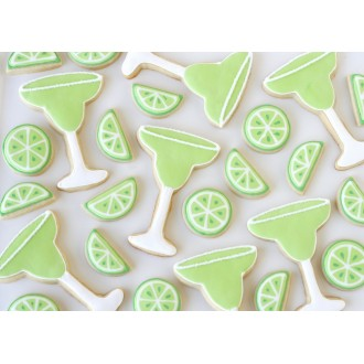 Margarita Glass Cookie Cutter 3 3/8""