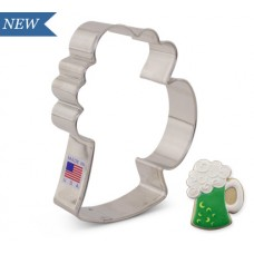 "Beer Mug Cookie Cutter 4 1/4"" x 3 3/8"""