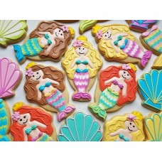 Ice Cream Sundae / Mermaid Cookie Cutter 5'' from Flour Box Bakery