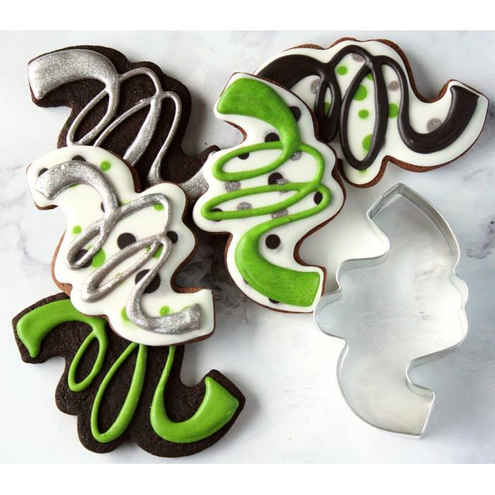 """LilaLoa's Confetti Cookie Cutter 4 1/8"""""""