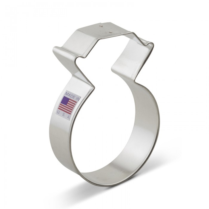 Diamond Ring Cookie Cutter
