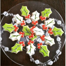 """Holly Leaf Cookie Cutter 3 1/8"""""""