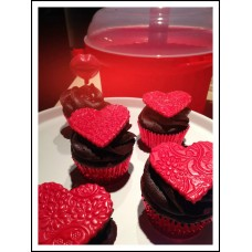 Foil Bake Cups Red (Quantity 500)