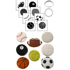 Cookie Cutter Texture Set -Sports Ball