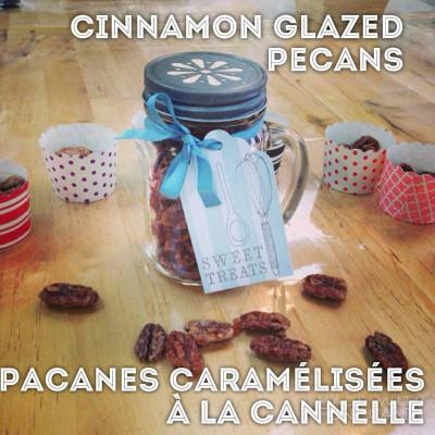 Cinnamon glazed Pecans