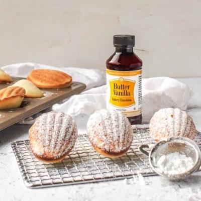 Butter Vanilla Madeleines