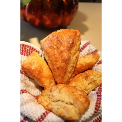 Cheese and Rosemary Scones