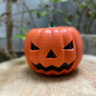 3 Part Mold for Jack O Lantern For Hot Cocoa Bomb - 10035 (65mm)
