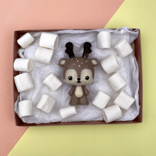 3 Part Mold Baby Reindeer For Smash Cake - 10204