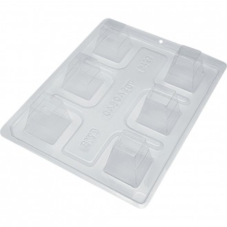 3 Part Mold for Square Mousse Chocolate Mould - 9427