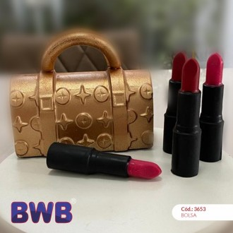 3 Part Mold for Lipstick - 10160
