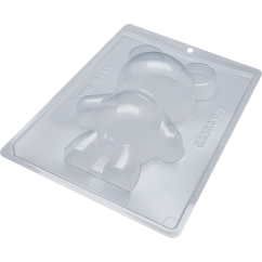 3 Part Mold for Large Teddy Bear For Smash Cake - 9910