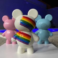 3 Part Mold for Medium Teddy Bear For Smash Cake - 9984