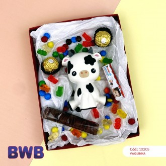 3 Part Mold Baby Cow For Smash Cake - 10205