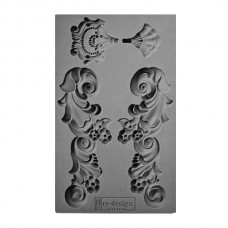 Vintage Art Décor Mould - Groeneville Crest