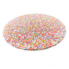 "Cake Board 10"" Masonite Sprinkles"