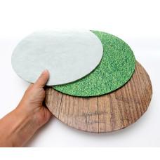 """Cake Board 10"""" Masonite Grass"""