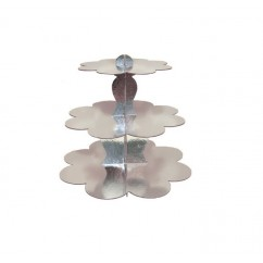 3 Tier Stand Silver