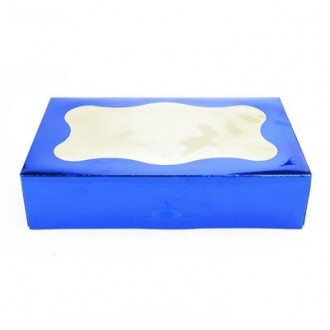 Cookie Box 1 Pound (Blue)