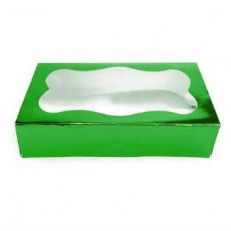 Cookie Box 1 Pound (Green)