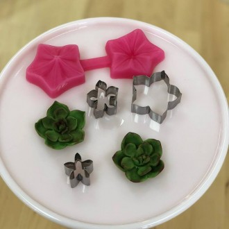 Petunia Cutter & Mould Set (with Extra cutters)