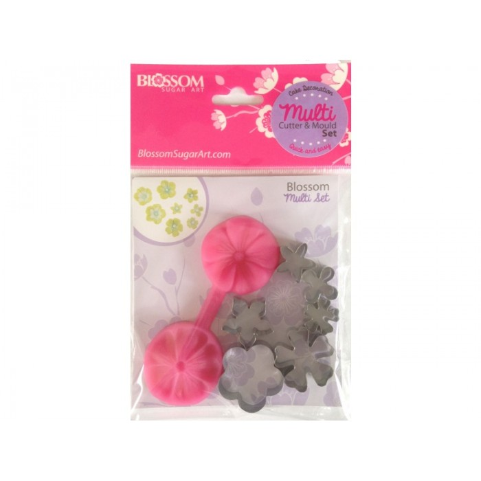 Blossom Cutter & Mould (with extra cutters)