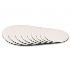 "Cake Board 10"" Silver Foil x 1/8 Inches"
