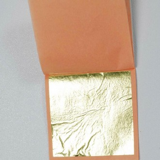 Gold Leaf Paper 23 Karat (Edible) (20 small)
