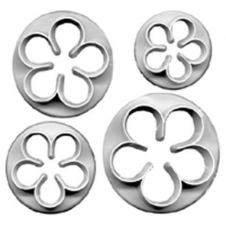 PME 5 Petal Cutter Set (Set of 4)